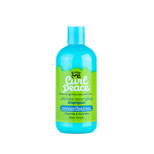 Just For Me - Curl Peace - Ultimate Detangling Shampoo - Shampoing Démêlant Enfants (355ml)