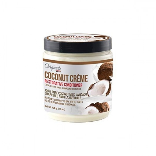 Originals By Africa's Best - Coconut Creme - Restorative Deep Conditioner - Masque Après-Shampoing Réparateur (426 g)