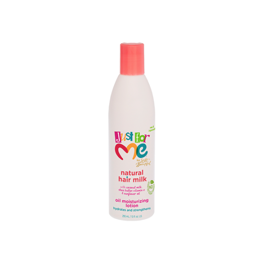 Just For Me - Natural Hair Milk - Oil Moisturizing Lotion - Lotion Capillaire Hydratante (295 ml)