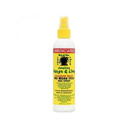 Jamaican Mango & Lime - No More Itchy Gro Spray - Spray Croissance Locks & Twist (237ml)