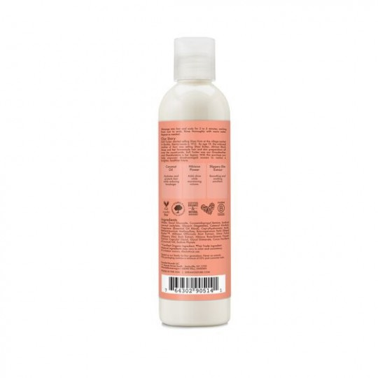 Shea Moisture - Coconut & Hibiscus 2in1 Curl & Shine - Shampoing Revitalisant 2en1 Coco et Hibiscus (236ml)