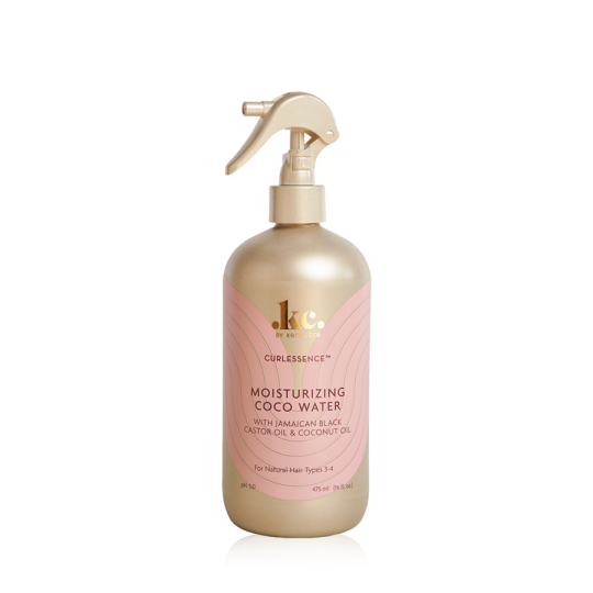 Keracare - Curlessence - Re-Wetting Coco Water - Spray Redynamisant Ricin et Noix de Coco pour Boucles (475ml)