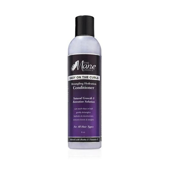 The Mane Choice - Easy On The Curls - Detangling Hydration Conditioner - Après Shampoing Démêlant Boucles (236.59ml)
