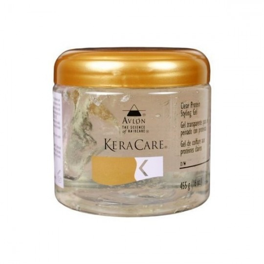 Keracare - Clear Protein Styling Gel - Gel Coiffant Transparent (455g)