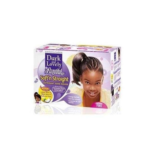 Dark & Lovely - Beautiful Beginnings - Défrisant Sans Soude Enfant (Cheveux Fin)