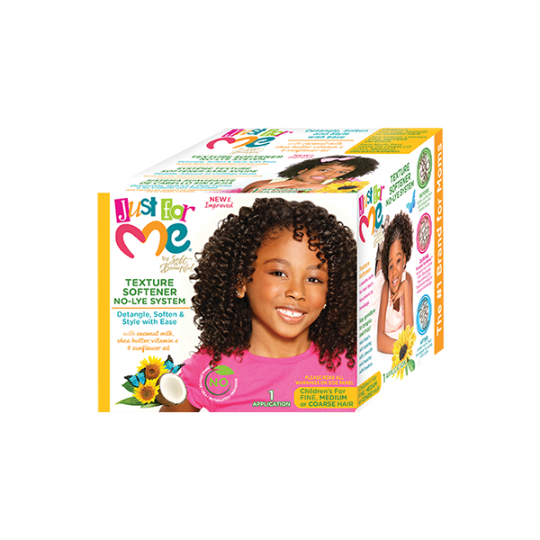 Just For Me - No-Lye Conditioning Texture Softener - Kit Assouplissant Enfant