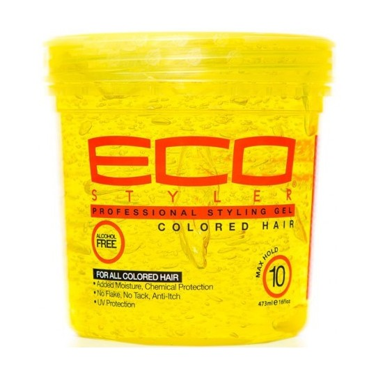 Eco Styler - Professional Styling Gel - Colored Hair - Gel Cheveux Colorés (473 ml)