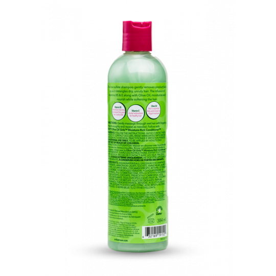 Ors - Olive Oil Girls - Gentle Clease Shampoo - Shampoing Doux (384ml)