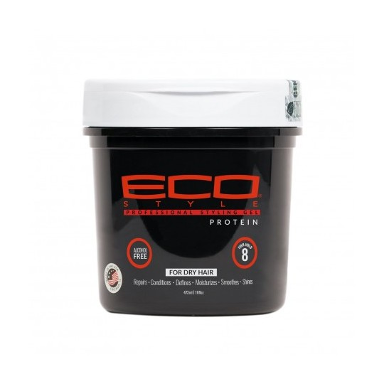Eco Styler - Professional Styling Gel - Protein - Gel Proteiné (473 ml)