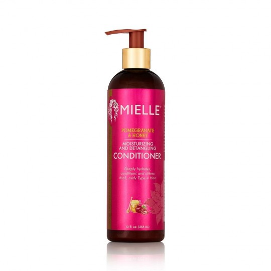 Mielle Organics - Pomegranate & Honey - Moisturizing And Detangling Conditioner - Après-Shampoing Démêlant Hydratant (355 ml)