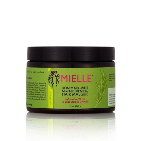 Mielle Organics - Rosemary Mint - Strengthening Hair Masque - Masque Réparateur Fortifiant (340g)