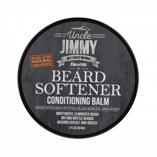 Uncle Jimmy - Beard Softener - Conditioning Balm - Baume Hydratant Barbe (59ml)