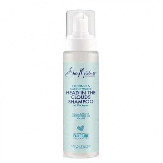 Shea Moisture - Coconut & Cactus Water - Head In The Clouds Shampoo - Shampoing Nettoyant Nourrissant (349ml)
