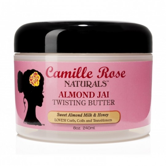 Camille Rose - Almond Jai Twisting Butter - Beurre Coiffant (240 ml)