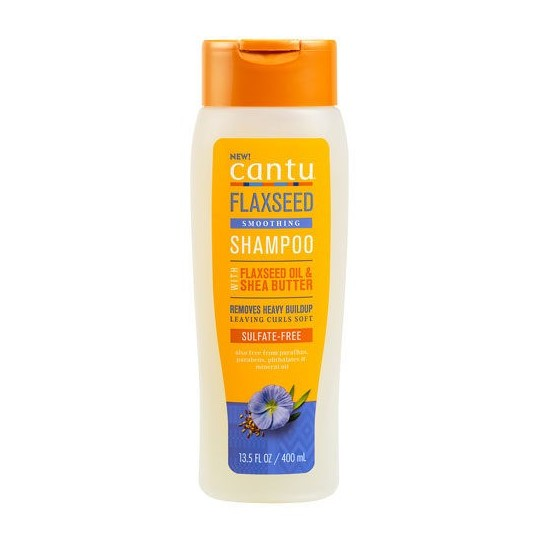 Cantu - Flaxseed Smoothing Shampoo - Shampoing Lissant Aux Graines De Lin (400 ml)