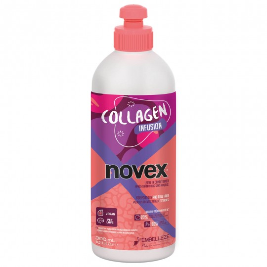 Novex - Collagen Infusion - Après Shampoing Sans Rinçage (Leave-in) (300ml)