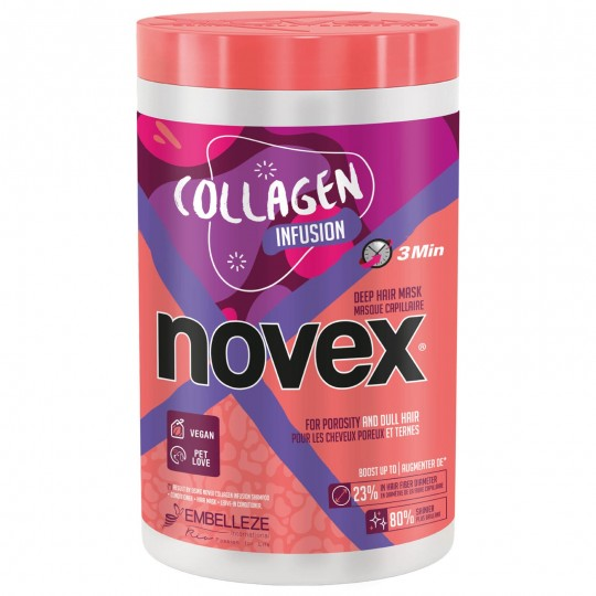 Novex - Collagen Infusion - Masque Revitalisant Au Collagène (1kg)