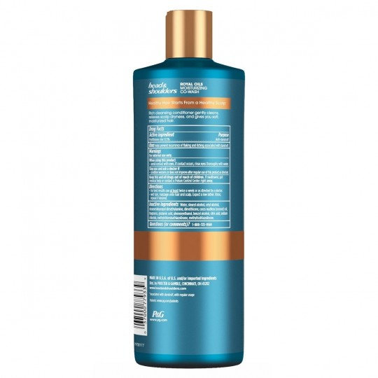 Heads & Shoulders - Royal Oils - Moisturizing Co-Wash - Co-Wash (450 ml)