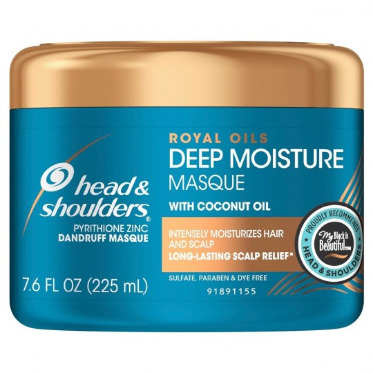 Heads & Shoulders - royal oils - deep moisture - masque capillaire (225 ml)