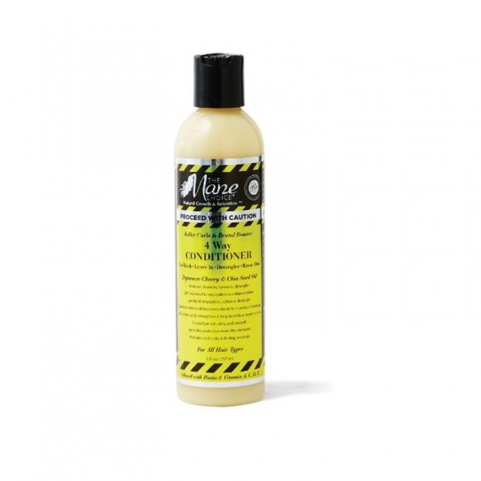 The Mane Choice - Proceed With Caution - 4 Way Conditioner - Après Shampoing (4 Type d'utilisations) (237ml)