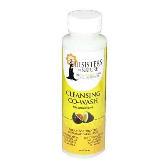 3 Sisters of Nature - Cleansing Co-Wash With Avocado Extract - Nettoyant Co-Wash (237ml)