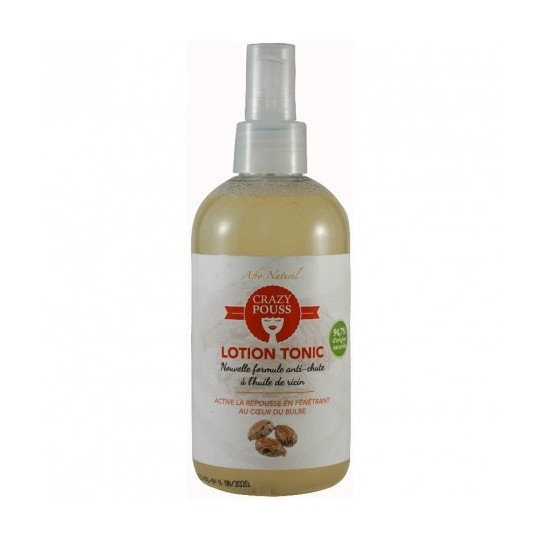 Afro Naturel - Crazy Pouss - Lotion Tonic Blanche