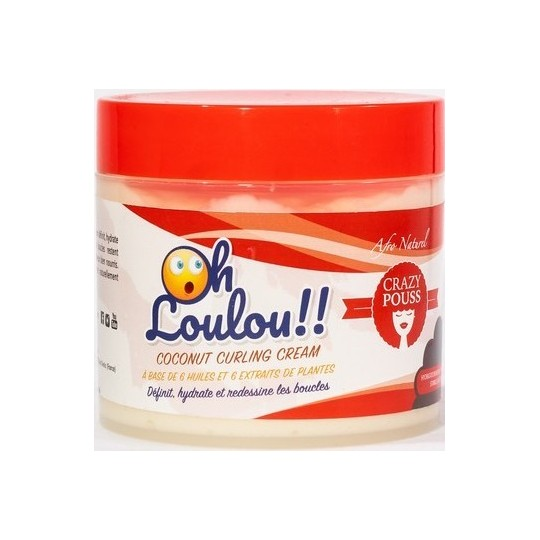 Afro Naturel - Crazy Pouss - Creme Oh Loulou