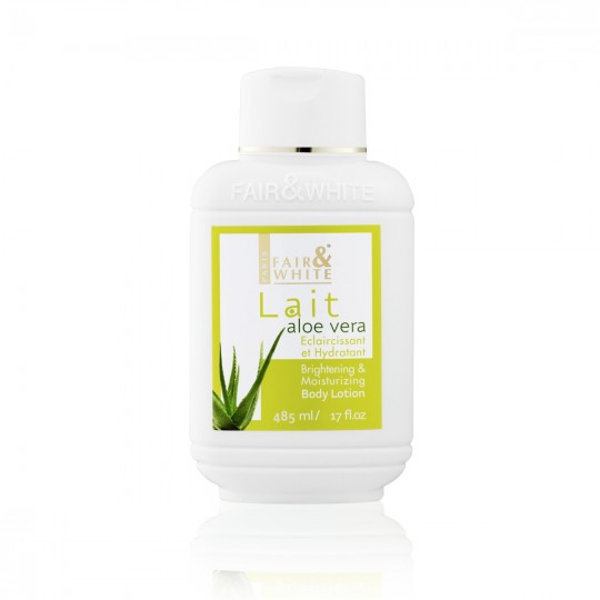 Fair And White - Lait Corps Éclaircissant et Hydratant Aloe Vera (500ml)