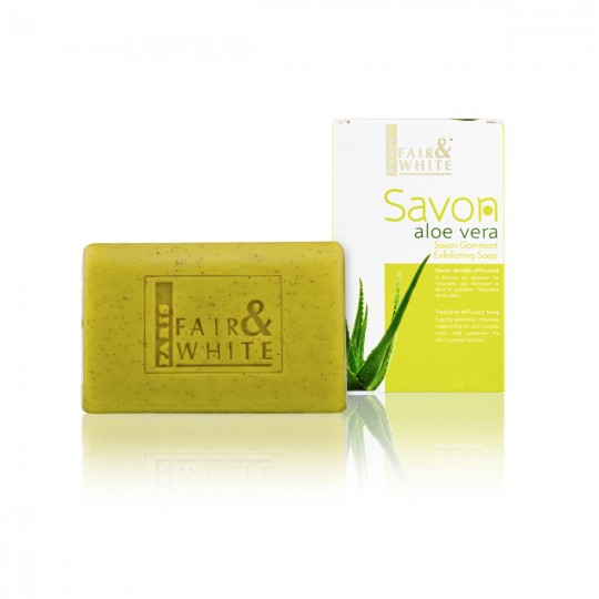 Fair And White - Savon Gommant Aloe Vera (200g)