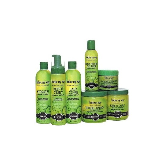 Pack Texture My Way - Keep It Curly - Gamme Définition Boucles 7 Produits