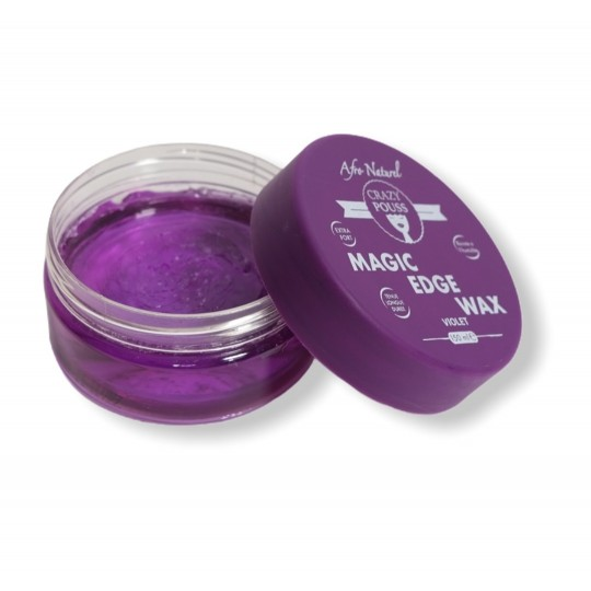 Afro Naturel - Crazy Pouss - Magic Edge Wax Violet (150ml)