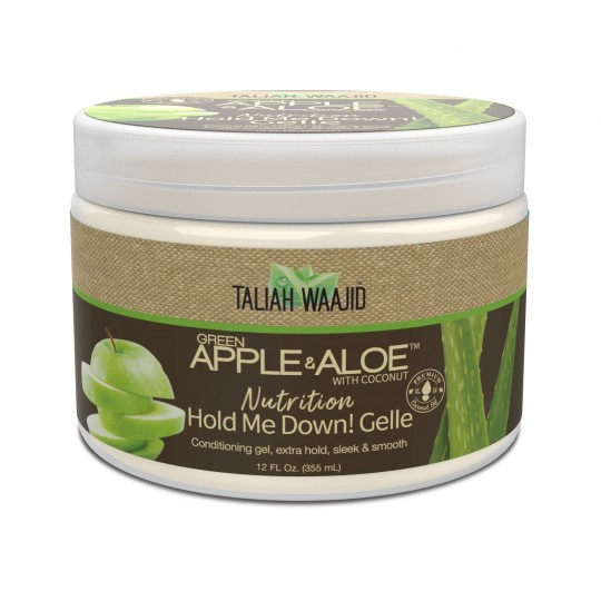 Taliah Waajid - Green Apple & Aloe - Hold Me Down! Gelle - Gelée Capillaire (355ml)