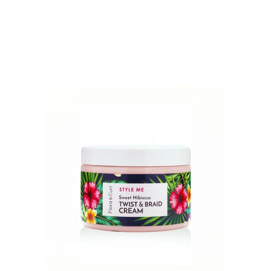 Flora & Curl - Sweet Hibiscus Twist & Braid Cream (300ml)