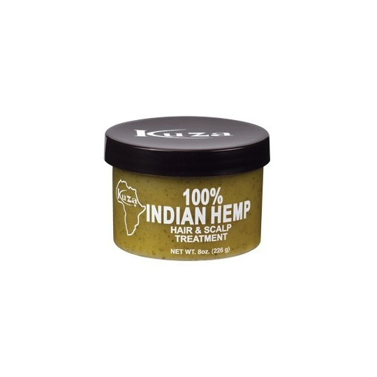 Kuza - 100% Indian Hemp Hair & Scalp Treatment - Traitement Réparateur Hydratant (226g)
