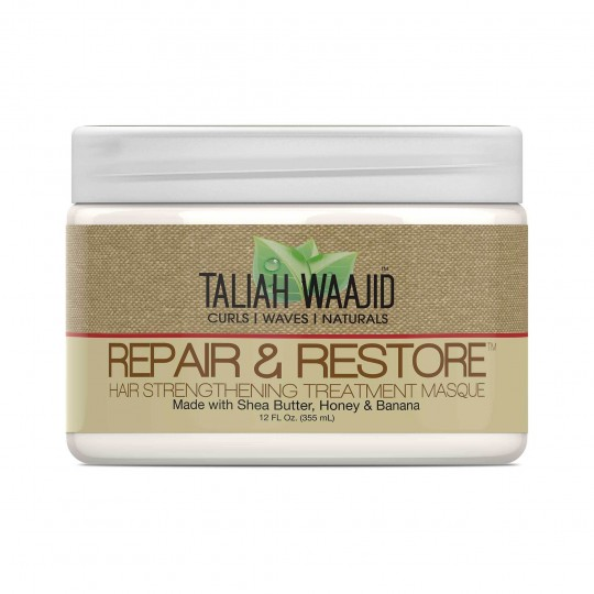 Taliah Waajid - Curls Waves Naturals - Repair & Restore Hair Strengthening Masque - Masque Réparateur Fortifiant (355ml)