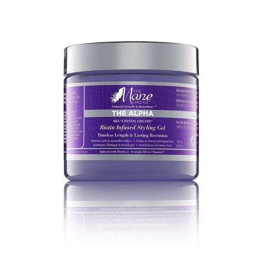 The Mane Choice - Crystal Orchid Biotin Infused Styling Gel - Gel Coiffant (453.59g)