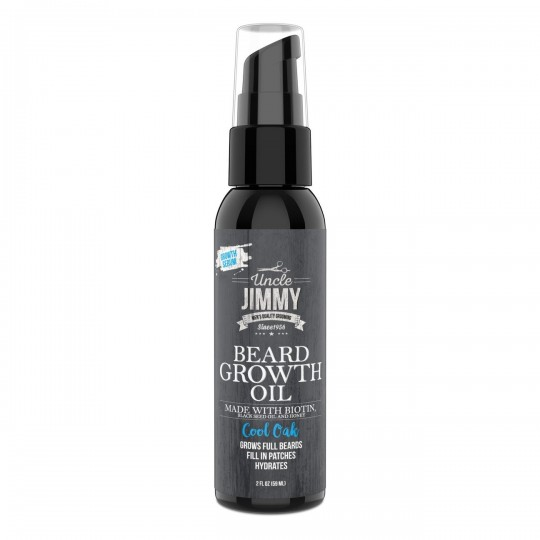 Uncle Jimmy - Beard Growth Oil - Huile Repousse Barbe (59ml)