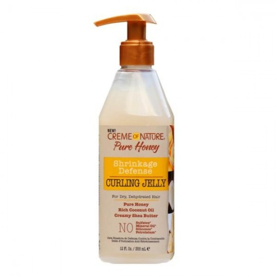 Creme Of Nature - Pure Honey - Shrinkage Defense Curling Jelly (355ml)