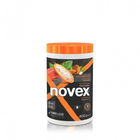 Novex - SuperFood - Cacao & Almond - Masque Capillaire Nutritive (400g)