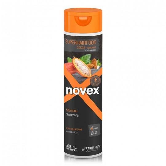 Novex - SuperFood - Cacao & Almond - Shampoing Nutritive (300ml)