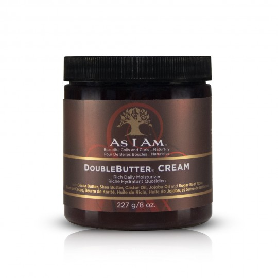 As I Am - Double Butter Cream - Crème Riche Hydratation 227g