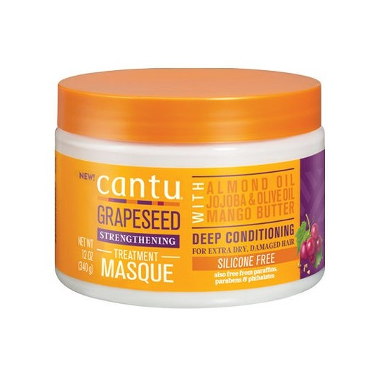 Cantu - Grapeseed - Masque Capillaire Fortifiant (340g)