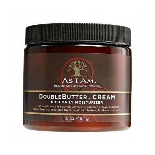 As I Am - Double Butter Cream - Crème Riche Hydratation (454g)