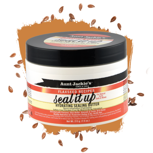 Aunt Jackie's - Flaxseed - Seal It Up - Beurre Hydratant & Nourissant (213g)