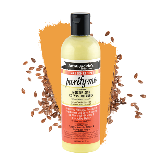 Aunt Jackie's - Flaxseed - Purify Me Co-wash - Nettoyant Hydratant (355ml)