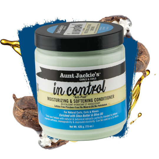 Aunt Jackie's - Curls & Coils - In Control - Après Shampoing À Rincer (426g)