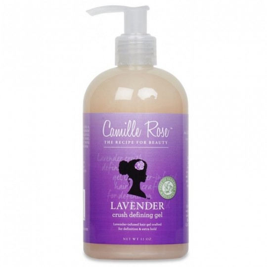 Camille Rose - Lavender Crush Defining Gel - Gel Definition Boucles (340ml)