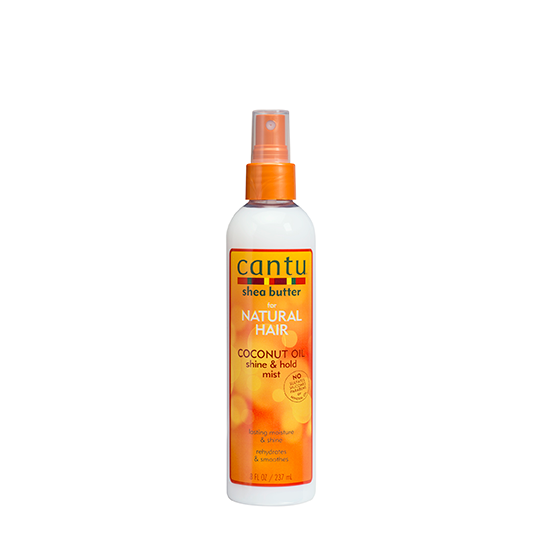 Cantu - Coco Milk Shine & Hold Mist - Spray Hydratant Huile De Coco (237ml)
