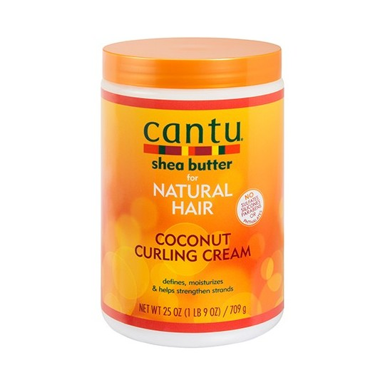 Cantu - Coconut Curling Cream Salon - Crème activatrice de boucles Coco (709g)