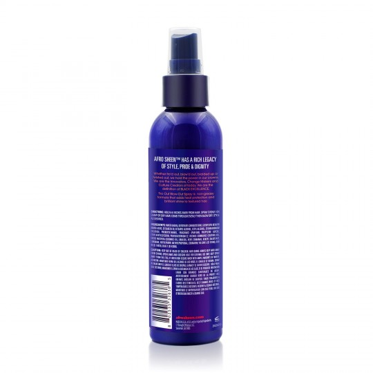 Afro Sheen - Fro Out Blow Out Spray - Spray Protecteur Thermique & Anti Frisottis